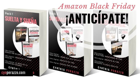 Amazon Black Friday ¡Anticípate! CynPerazzo.com