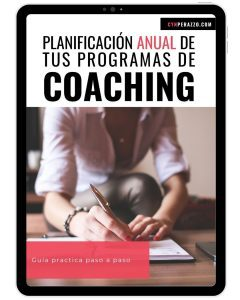 Guía práctica: Planificación anual de tus programas de coaching paso a paso | Cyn Perazzo
