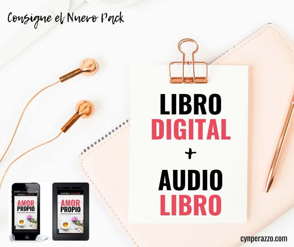 PACK AMOR PROPIO: Libro digital + audiolibro