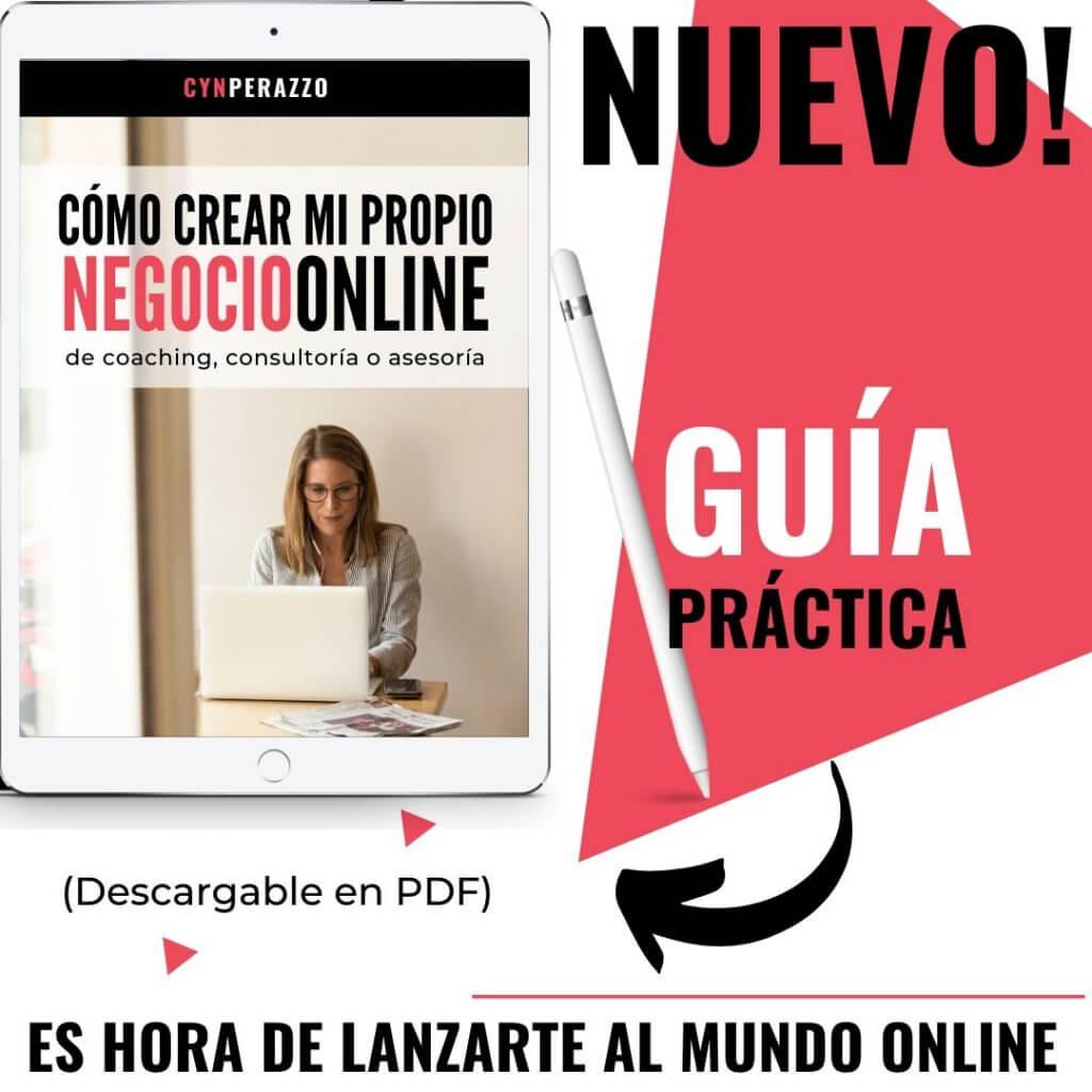 Cómo crear mi propio negocio online | Guía práctica | Cyn Perazzo