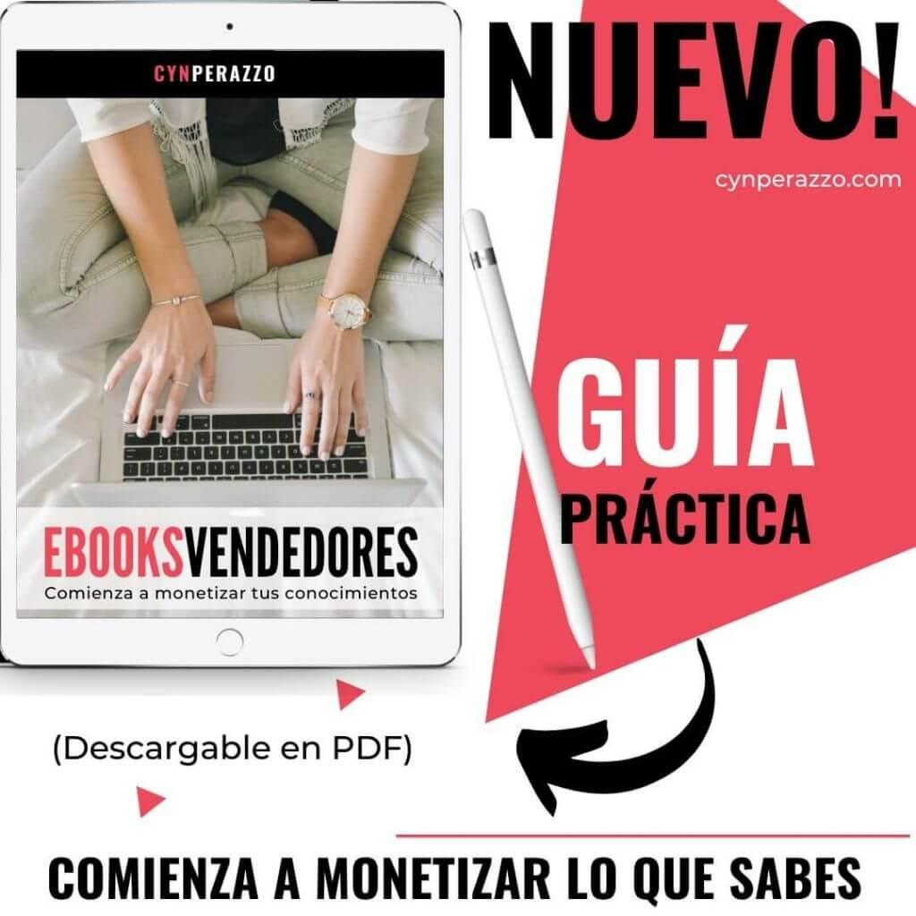 Ebooks vendedores | Guía práctica | Cyn Perazzo