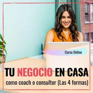 Negocio en casa como coach o consultor